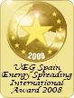 UEG Spreading International Award Site 2008...